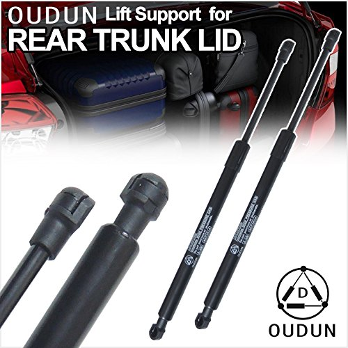 (VIOJI Brand New 2pcs Rear Trunk Lid Gas Lift Supports Strut Shocks For BMW 2006-2011 E90 323i/325i/325xi/328i/328xi/328i xDrive/330i/330xi/335d/335i/335i xDrive/335xi/M3 4-Door Sedan)