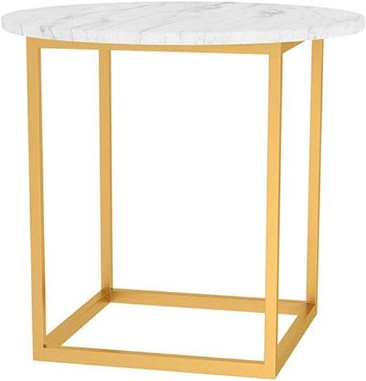 YNN Table Mesa de Centro Mesa Redonda Mesa Auxiliar Sofá for Sala ...