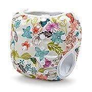 Storeofbaby Baby Swim Diaper Reusable Leak-proof Adjustable Infant 0 3 Years (Buff)