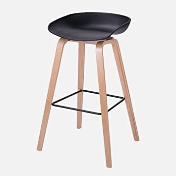 WENBO HOME- Simple creative casual modern bar chairs, Nordic bar stool, home high