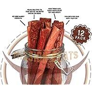 Keto Sugar Free Sampler Pack Grass Fed Beef Sticks & Bars Healthy Free Range Turkey Sticks Gluten MSG Nitrate & Nitrite Free Paleo Friendly Snacks Mission Meats