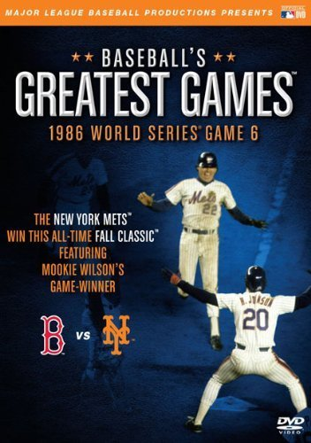 Baseballs Greatest Games: 1986 World Series Game 6 by A&E Entertainment ()