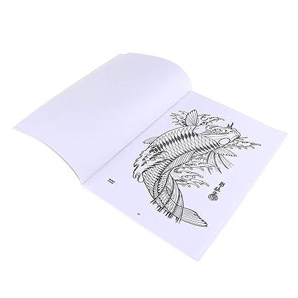 Libro de Tatuaje de 51 Páginas Tatuaje Manuscrito Arte Corporal ...