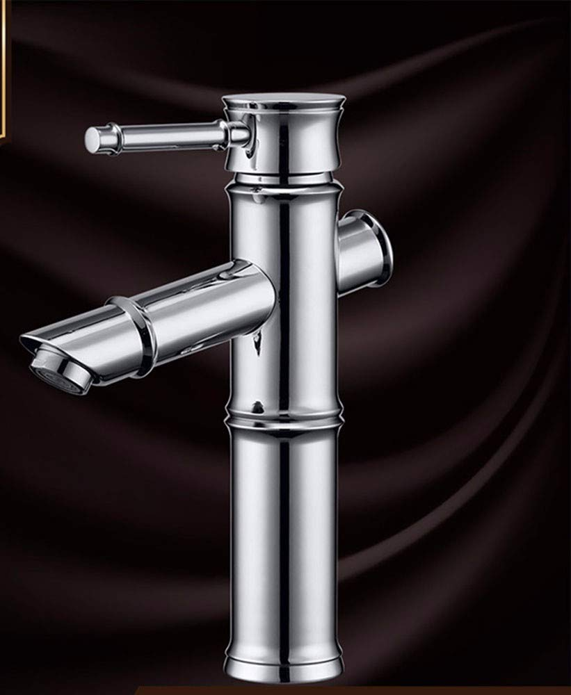 9 Hlluya Professional Sink Mixer Tap Kitchen Faucet Copper, Single Hole, washing your face, hot and cold, wet cock 8