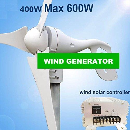 GOWE Max Power 600w small wind generator+650w wind solar hybrid controller
