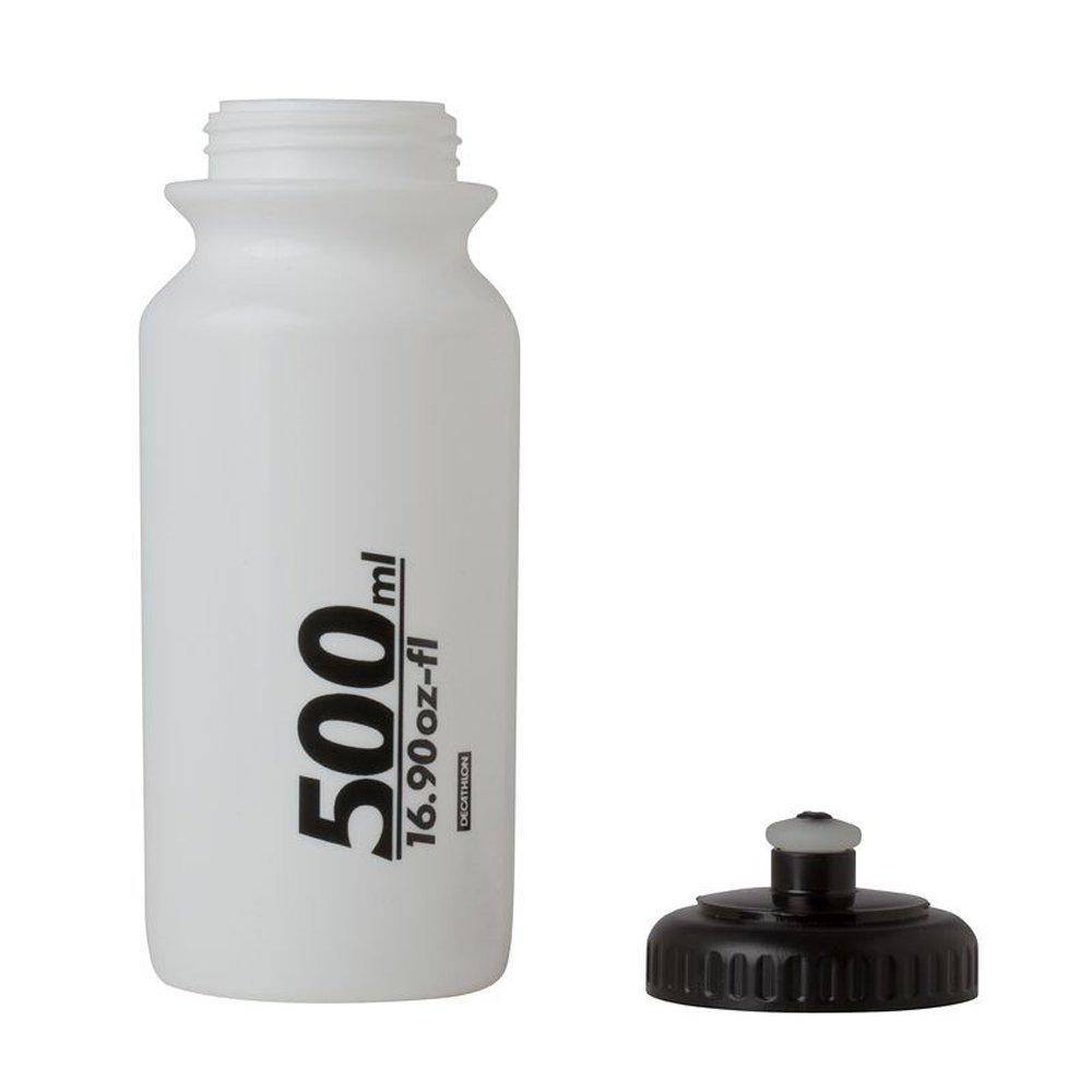 B twin 500 ml ciclismo botella de agua Color blanco: Amazon.es: Deportes y aire libre
