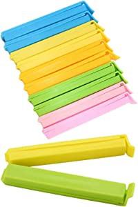 20-pc Bag Clips Sealer, Assorted Colors, Food Sealing Clips