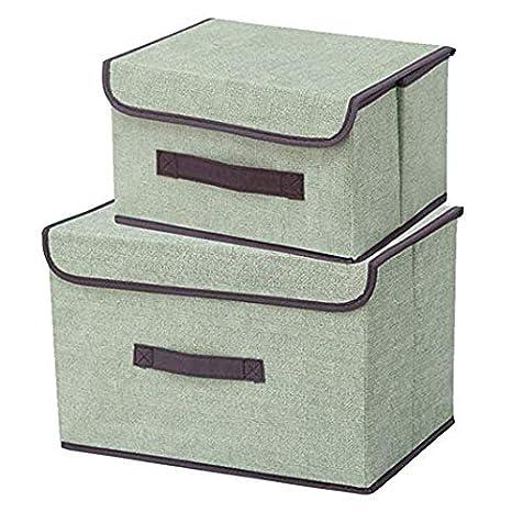 Amazon.com: SuxHeart Caja de almacenamiento plegable, cesta ...
