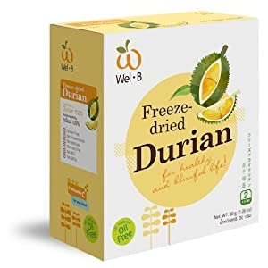 Dried Durian Freeze Dried Fruit