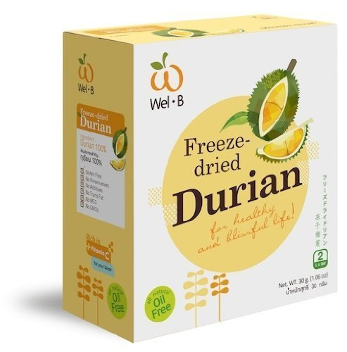 Fruit King Vacuum Freeze Dried Crispy Durian Monthong 100g