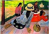 Paul Gauguin Afternoon Quiet Hour Art Print Poster 19 x 13in
