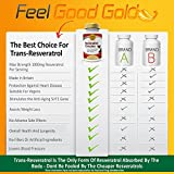3 x Bottles - Pure Resveratrol Max Strength 1000mg 180 Vegan Capsules with Trans-Resveratrol High Potency Antioxidant Anti Aging Supplement Try Risk Free 3 x Bottles Discount