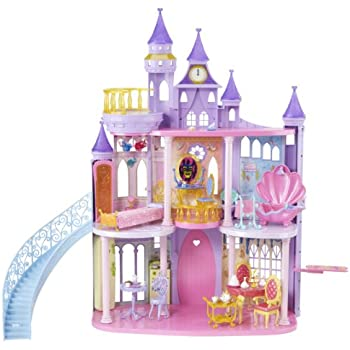 kidkraft disney princess cinderella royal dreams dollhouse toys games. Black Bedroom Furniture Sets. Home Design Ideas
