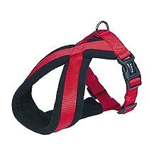 Nobby Classic Comfort Arnés 40-60 cm/25-50 mm, Color Rojo