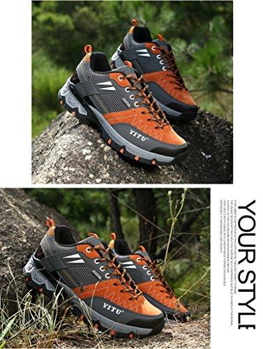 2017 Herbst Rutschfeste Atmungsaktive Sportschuhe Turnschuhe Paare Schuhe Wasserdichte Stiefel 37-44 Orange