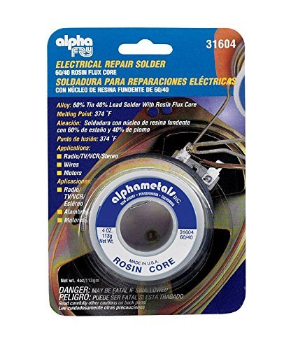 AMERICAN TERMINAL AT-31604 Solder 60-40 Rosin Core (Pack of 5) by American Terminal - - Amazon.com
