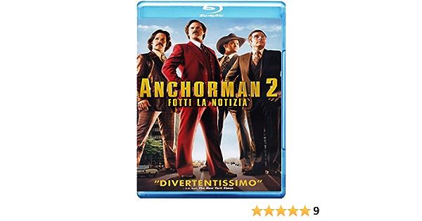 Anchorman 2 - Fotti La Notizia Special Edition 2 Blu-Ray ...