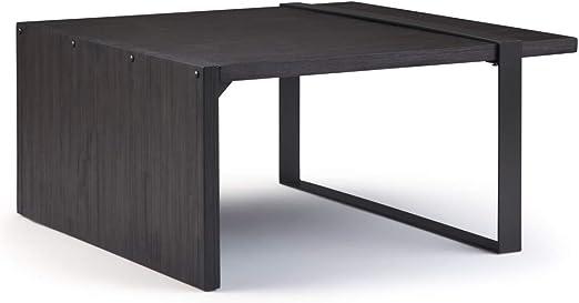 Brown Oak Flat Coffee table 110X65X16cm