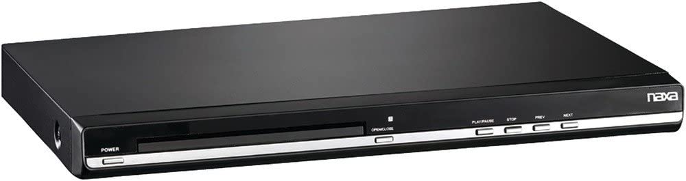 NAXA Electronics Slim DVD Home Theater System - Black (ND-861)