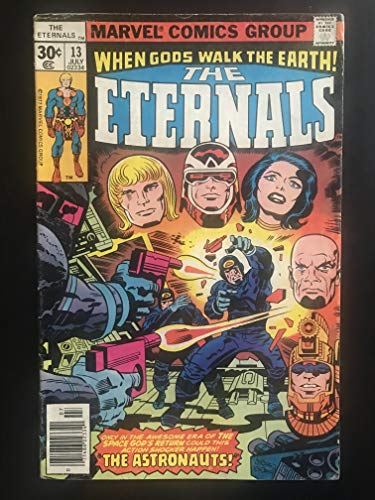- Eternals #13 1976 Series first printing original Comic Book 1977 Marvel 1st appearance of Gilgamesh the Forgotten One