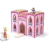 Melissa & Doug Children's Fold & Go Princess Castle