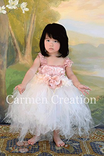 Vintage Baby Fairy Tutu Dress by Carmen Creation