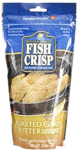 Rocky Madsen's Fish Crisp, Roasted Garlic and Butter, 340 Grams/12 Ounces