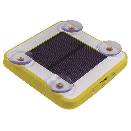 YLYP Cargador Solar De Ventosas, 50W USB Portátil 5200 MAh ...