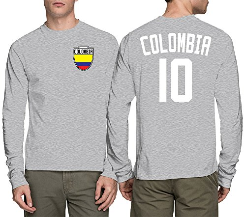 Long Sleeve Mens Colombia Colombian