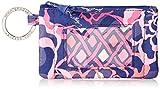Vera Bradley womens Zip Id Case, Katalina Pink, One size