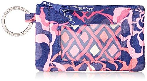 - Vera Bradley womens Zip Id Case, Katalina Pink, One size