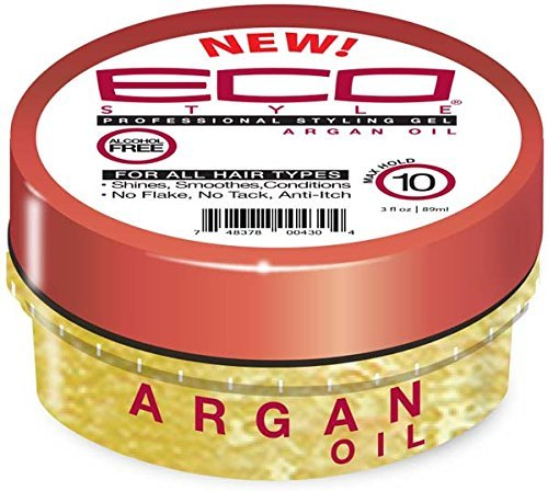 ECO STYLING GEL TRAVEL SIZE- ARGAN 3 OZ