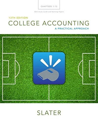 amazon com college accounting chapters 1 12 with study guide and rh amazon com Pearson Course ID Pearson Online Training