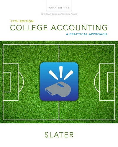 (College Accounting Chapters 1-12 with Study Guide and Working Papers Plus MyLab Accounting with Pearson eText -- Access Card Package (13th Edition))
