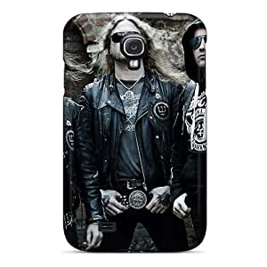 Great Cell-phone Hard Covers For Samsung Galaxy S4 With Provide Private Custom High-definition Metallica Image KaraPerron