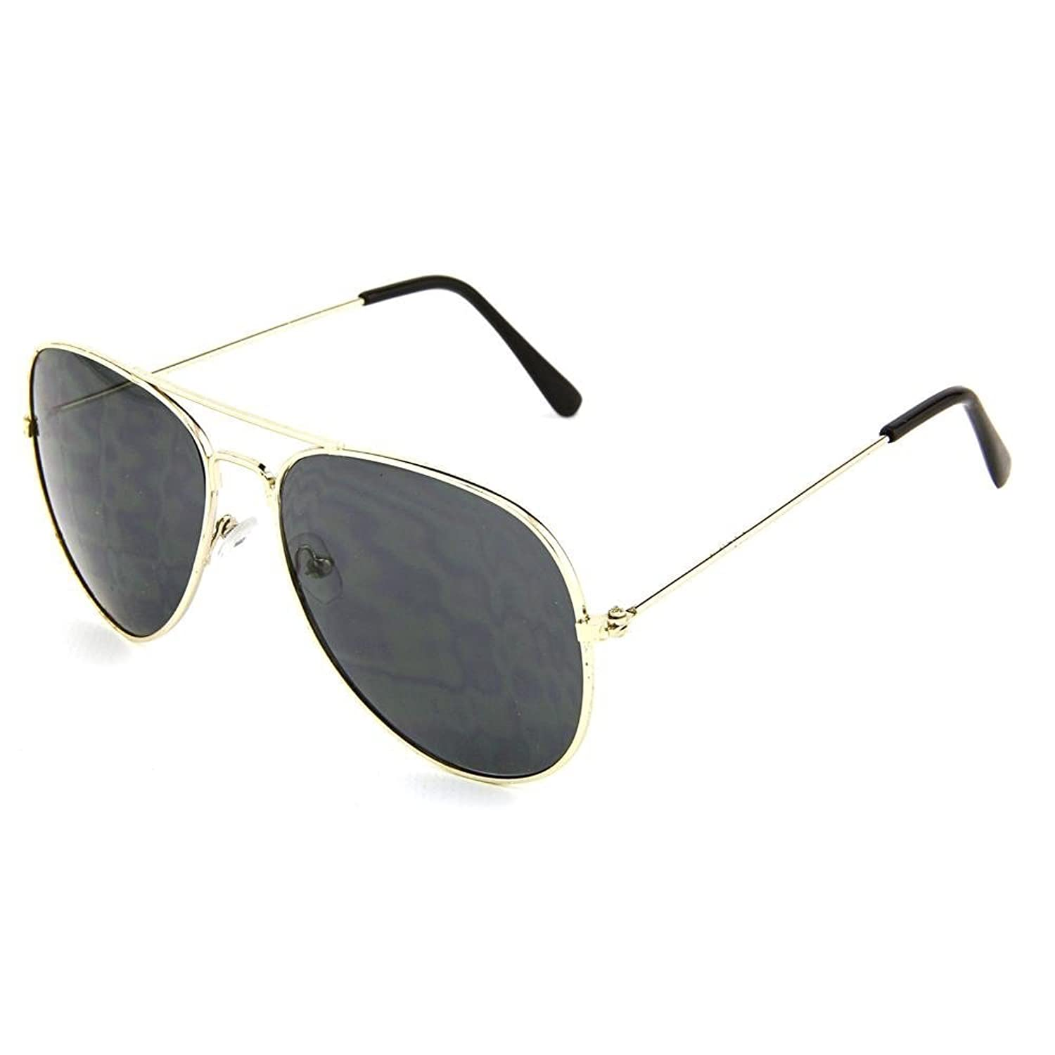 Aviator Sunglasses Reminiscent Of The 70\u0027s Style Metal Frame