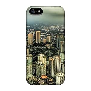 Awesome Cases Covers/iphone 5/5s Defender Cases Covers(kuala Lampur Cityscape Hdr)