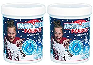 Be Amazing Insta-Snow Jar, Makes 2 Gallons (2 Pack)