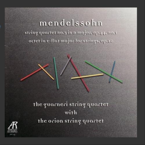 Octet String (Mendelssohn: String Quartet No. 3 in D Major, Octet in E-Flat Major for)