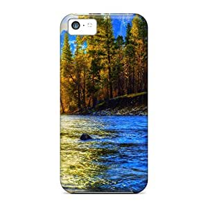 LJF phone case Hot QkdtLyT5635BfIGT Jungle Creek Tpu Case Cover Compatible With iphone 5/5s