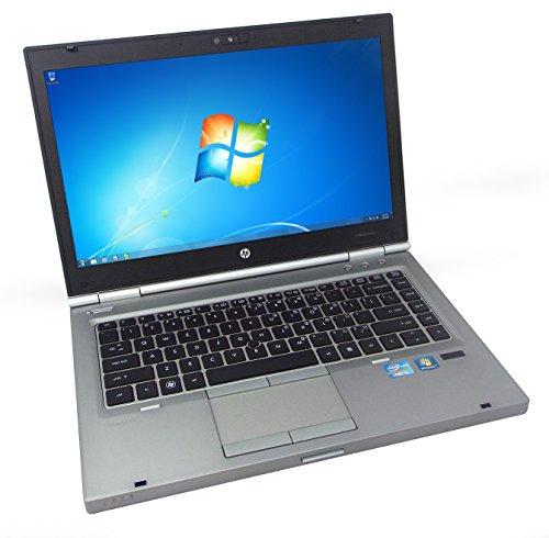 HP EliteBook 8460p 14' Laptop PC, Intel Core i7-2620M 2.7GHz, 16GB DDR3 RAM, 256GB SSD, Win-7 Pro