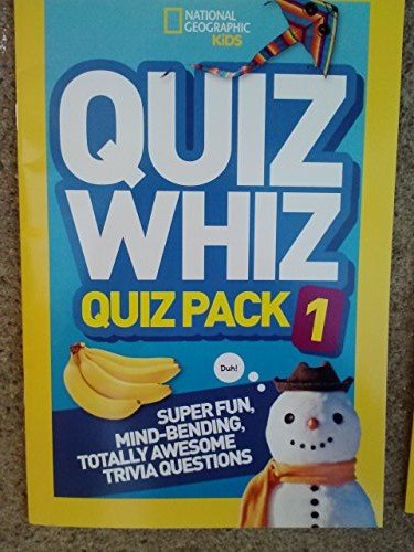 Download National Geographic Kids Quiz Whiz Pack 1 pdf