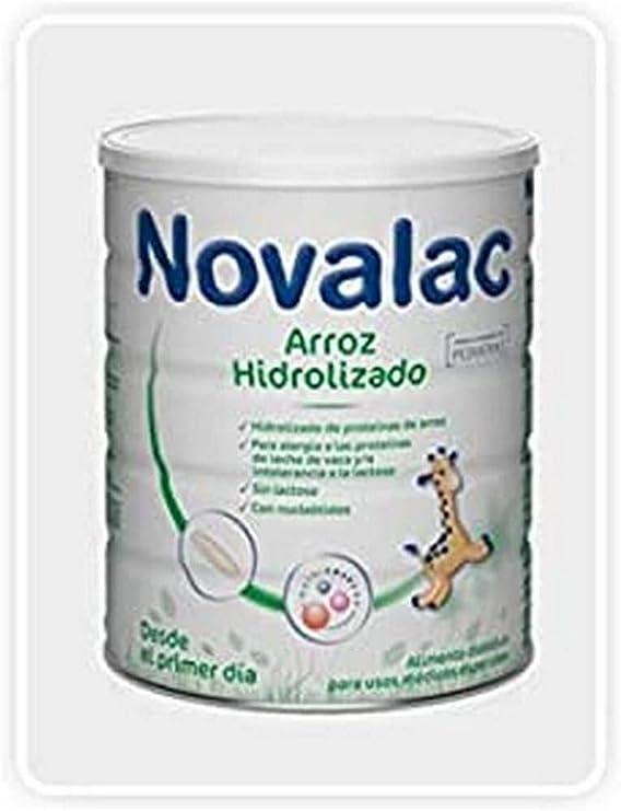 NOVALAC Arroz Hidrolizado Bote 400G 400 g: Amazon.es: Salud y ...