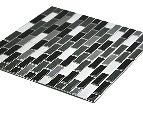 """Stick On Wall Tiles: Cocotik Peel And Stick Tile 10""""x10"""" Self Adhesive 3D Wall"""