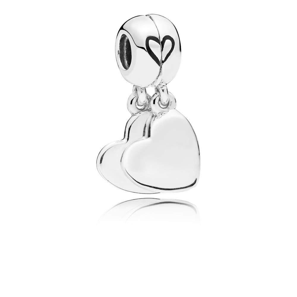 PANDORA Mother and Son Love 925 Sterling Silver Charm - 797777EN16