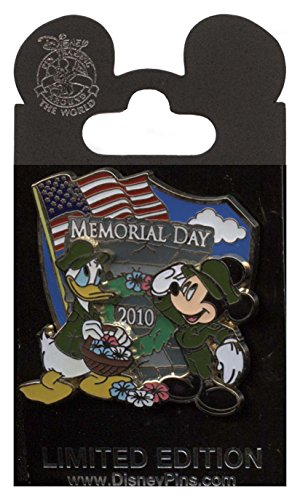 Disney Pin - Memorial Day 2010 - Donald Duck and Mickey ()