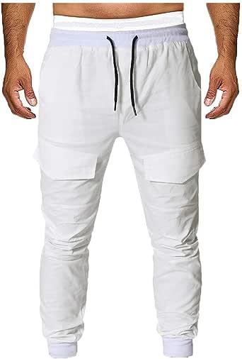 DUJIE Pantalón Casual Hombre Pantalones Hombre Pantalón Casual ...