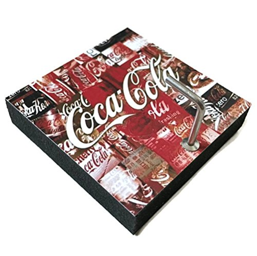 Coke Coca Costumes Diet Cup Cola (Agility Bathroom Wall Hanger Hat Bag Key Adhesive Wood Hook Vintage White Coca Cola Word's)