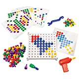 Educational Insights Design & Drill Activity Center: 146 Pieces—Preschool Creative Thinking and STEM Learning