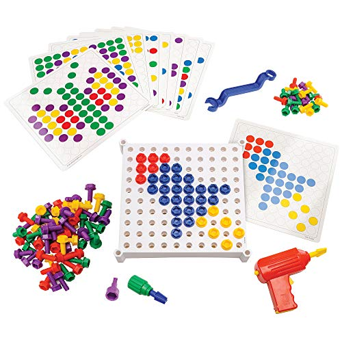 Educational Insights Design & Drill Activity Center: 146Piece—Preschool Creative Thinking & STEM Learning